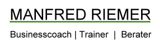 Manfred Riemer – Coaching und mehr